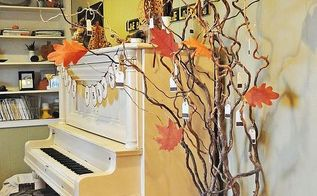 our thankful tree, home decor