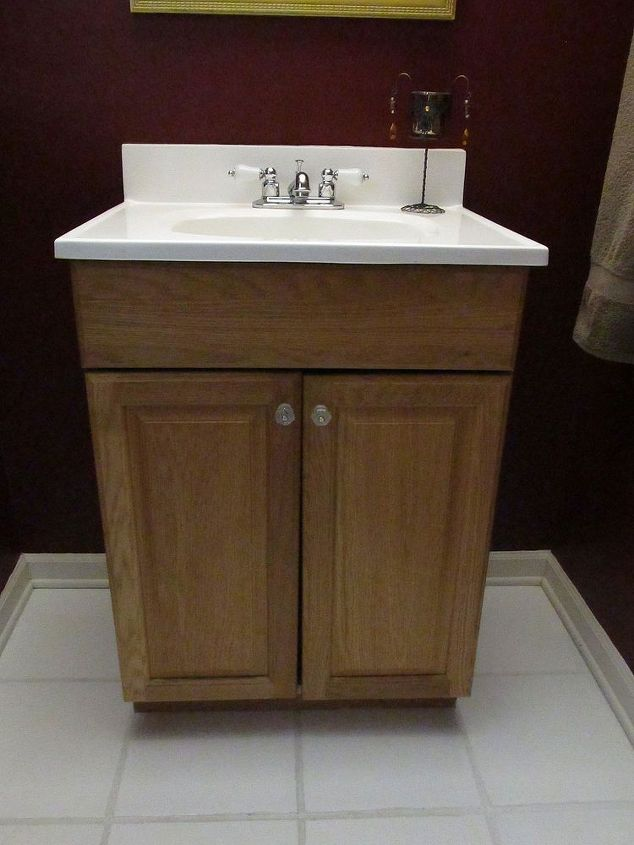 Guest Bathroom Vanity Make Over Hometalk