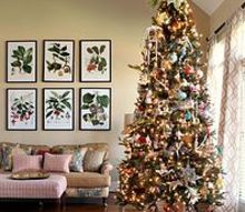 family christmas tree with designer details, christmas decorations, seasonal holiday decor, ChristmasTree