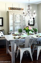 cottage farmhouse dining room, dining room ideas, home decor