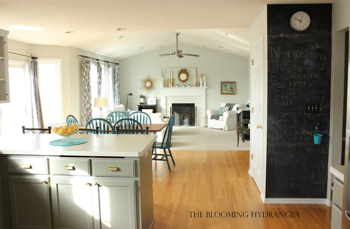 From Oak to Awesome Painted Gray and White Kitchen cabinets | Hometalk