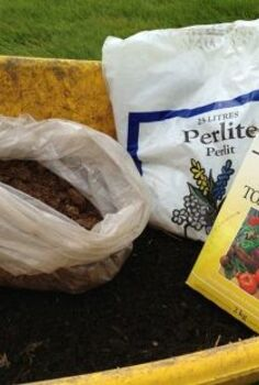 make your own potting mix, composting, gardening, Simple ingredients