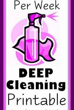 30 minutes per week house cleaning schedule, cleaning tips