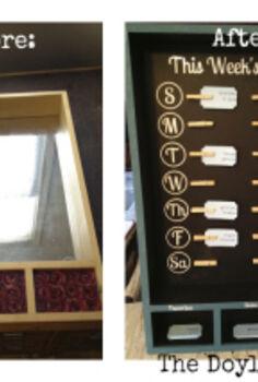 yhl pinterest challenge diy menu board edition