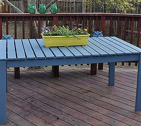 Delightful Colorful Outside Picnic Table, Outdoor Furniture, Outdoor Living,  Woodworking Projects, Our Table Witwisdomfood