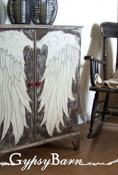 my fun with painting furniture take 1, chalkboard paint, home decor, painted furniture, This was a 3 dimensional paint medium I crafted up