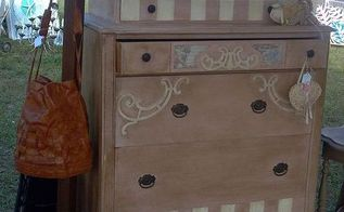 fancy flea, painted furniture