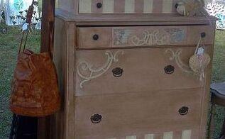 fancy flea, painted furniture