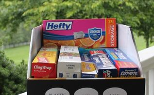 pantry organization using sam s club boxes, closet, organizing, Here ya go I m slipping this in the cabinet just as soon as I finish this post