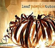 looking for an inexpensive and unique pumpkin craft for fall, crafts, seasonal holiday decor