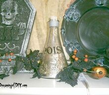 the future moving and halloween, halloween decorations, seasonal holiday d cor, Halloween Mantel