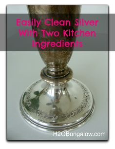 how to clean green tarnish off brass