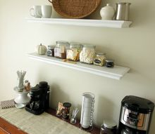 make your own hot beverage bar, home decor, kitchen design, storage ideas