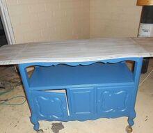 tea cart, painted furniture