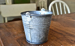 aging galvanized metal, crafts, Pretty authentic looking