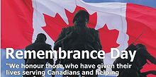 remembrance day, Remembrance Day in Canada