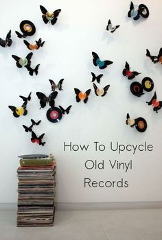 how to upcycle old vinyl records, home decor, repurposing upcycling, Beautiful Wall Art