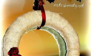 what do you do with a broken lampshade you make a wreath, christmas decorations, crafts, repurposing upcycling, seasonal holiday decor, wreaths