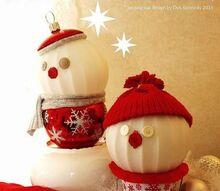 my new glass lamp globe snowmen, crafts, seasonal holiday decor, My NEW original glass lamp globe Snowmen