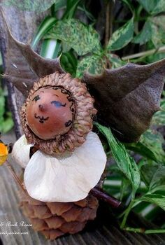 diy project make fairies for free, crafts, flowers, gardening, hydrangea, Holly Fairy