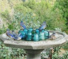 the ordinary and amazing birdbath, gardening, outdoor living, pets animals, repurposing upcycling