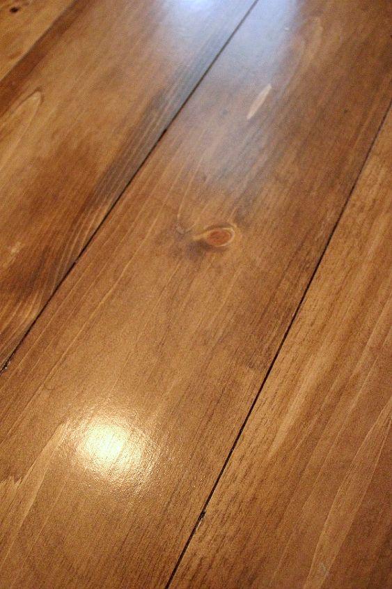 Installing Beautiful Wood Floors Using Basic Unfinished