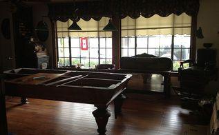 hardwood floor in my billiard room, diy, entertainment rec rooms, flooring, hardwood floors, Liking this floor
