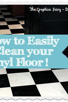 how to easily clean grimy vinyl floors, cleaning tips, flooring, tile flooring