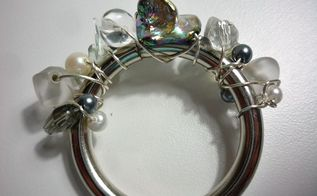 diy beaded napkin rings, crafts, Use hardware solid rings wire and beads to make napkin rings