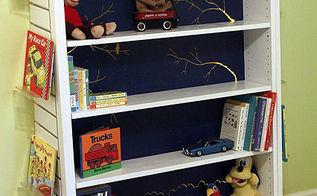 new life for borders bookshelf refab, painting, shelving ideas