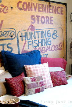 big ol grocery sign inspired kid s bedroom yup, bedroom ideas, crafts, home decor, This sign resides along the side of a daybed