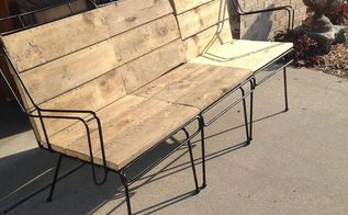 old wicker furniture gets a new life, painted furniture