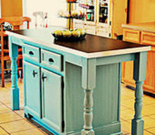 i redid our kitchen island to add a larger counter seating amp fun details, kitchen design, kitchen island, Our made over kitchen island From builder grade to custom