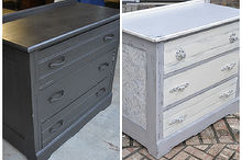 dumpster to rustic diva dresser how to use wallpaper on furniture, painted furniture, rustic furniture