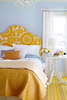 learn how to upholster a headboard, bedroom ideas, crafts
