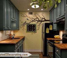 tiny condo kitchen makeover, home decor, kitchen design, My finished kitchen