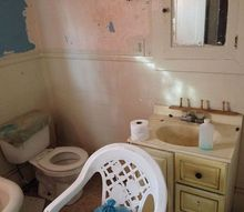 q what can i do with this mess, bathroom ideas, diy, home improvement
