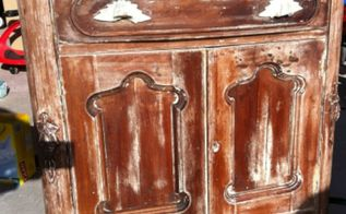 my trick to make furniture stripping super easy, painted furniture