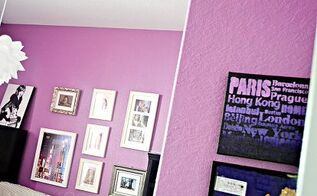 diy stenciled subway art, crafts, painting, Create your own DIY Stenciled Subway Art ombre style