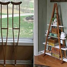 have any old wooden crutches, home decor, painted furniture, repurposing upcycling, source