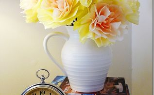 paper posies a diy flower bouquet, crafts