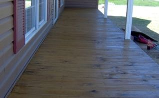 sealing your wood deck for years of enjoyment, decks, home maintenance repairs, how to, Just another finished shot