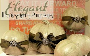 taking real pumpkins up a notch, halloween decorations, seasonal holiday d cor, thanksgiving decorations