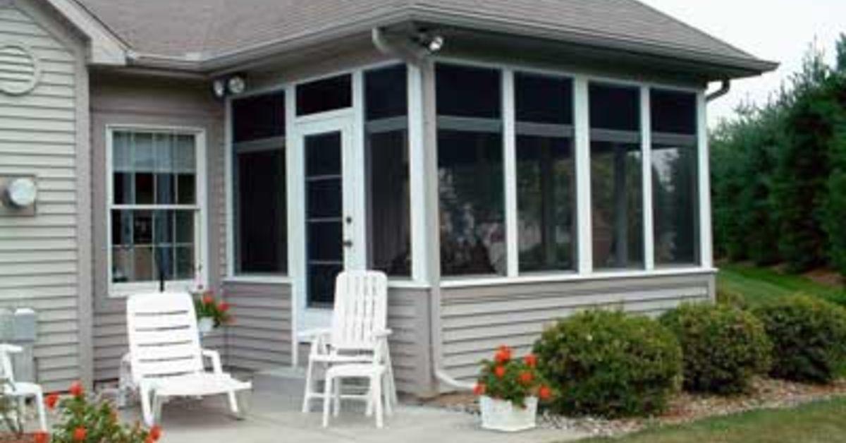 amazing diy screen porch option hometalk. Black Bedroom Furniture Sets. Home Design Ideas