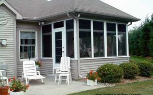 amazing diy screen porch option, decks, porches, windows, A classic screened porch adds valuable living space