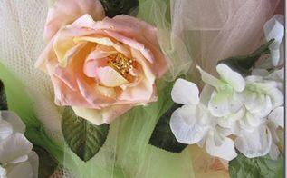 spring rose wreath, crafts, wreaths