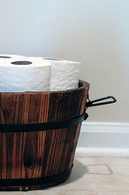 decorating with wood barrels, home decor