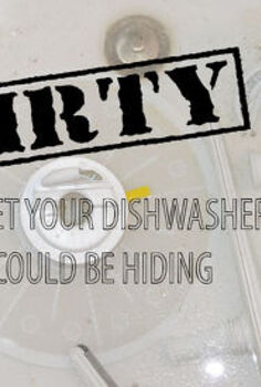 don t replace your dishwasher just yet, appliances, cleaning tips, home maintenance repairs, how to