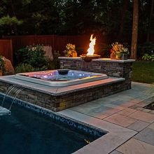 2013 outstanding achievement awards, landscape, outdoor living, pool designs, spas, Deck and Patio Company Huntington Station NY