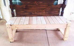 headboard bench love, diy, painted furniture, repurposing upcycling, woodworking projects